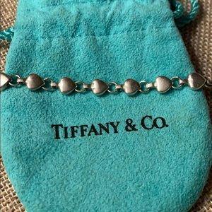 Tiffany & co vintage heart bracelet